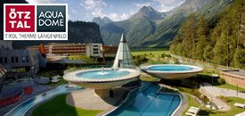 AQUA DOME Wellness im Mai